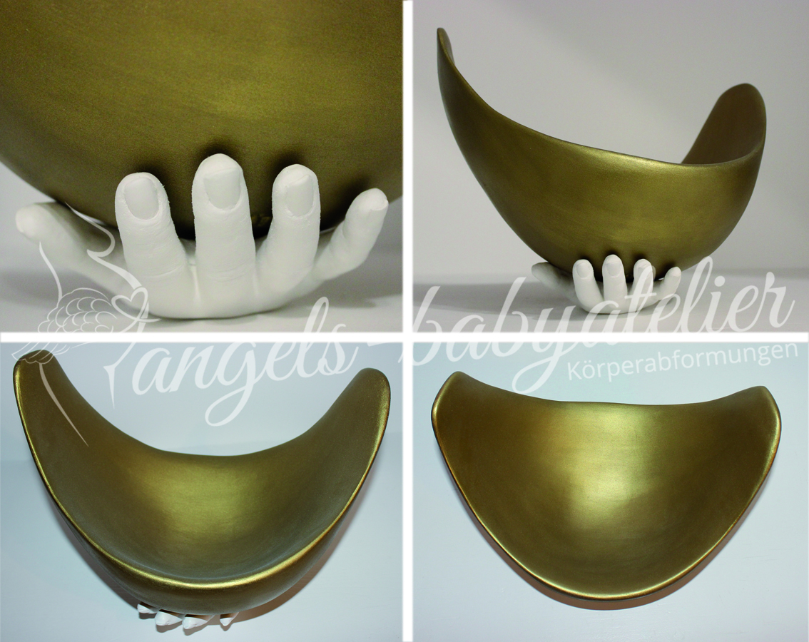 Belly Bowl in Gold