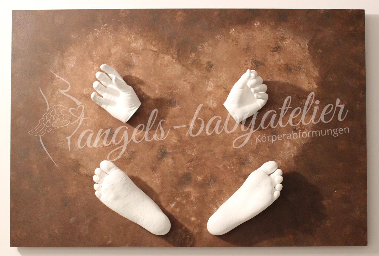 3 D Hand- und Fußabdruck