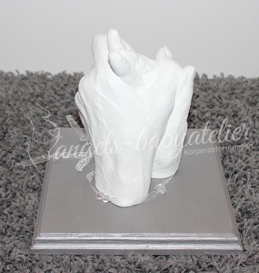 3D Mutter Tochter Handabdruck