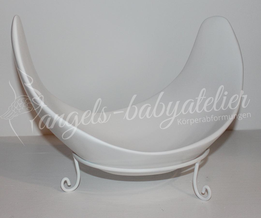 Belly Bowl in schlicht Weiß