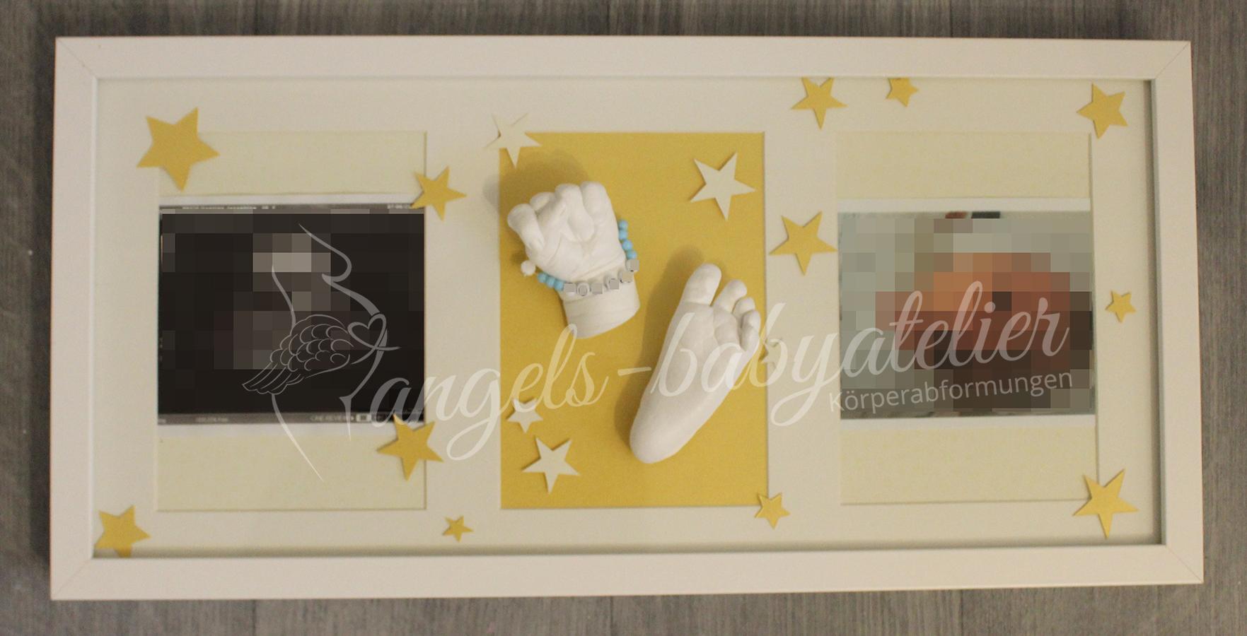 3D Babyhand und Fußabdruckset