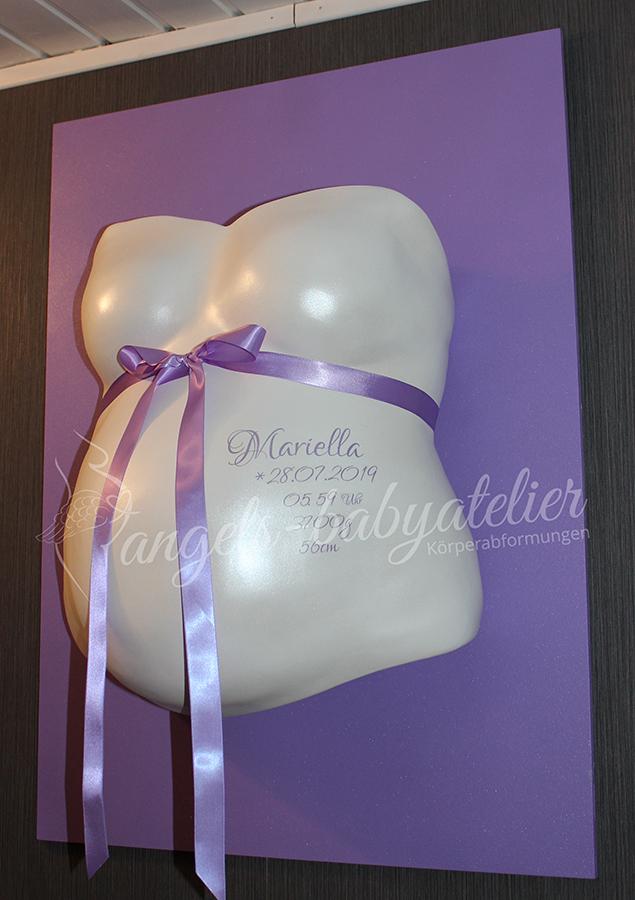 Babygipsbauchabdruck Premium